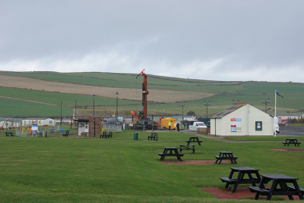 Borehole drilling at St Bees
