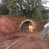 WCM West Cumbria Mining, together with its specialist contractor Hargreaves, have begun the initial investigation work of the former Sandwith Anhydrite mine drifts